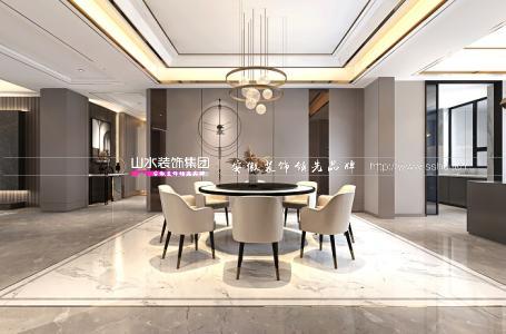 凯旋门390平米现代新房装修   人与空间对话 唤醒品质生活