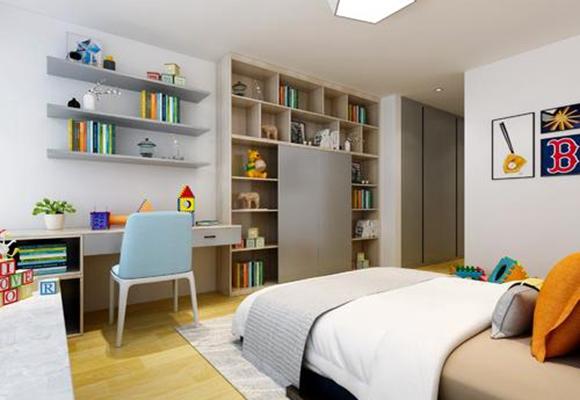 儿童房<span style='color: #ff0000'>书房</span>装修好吗?帮助你家孩子养成从小爱阅读的习惯