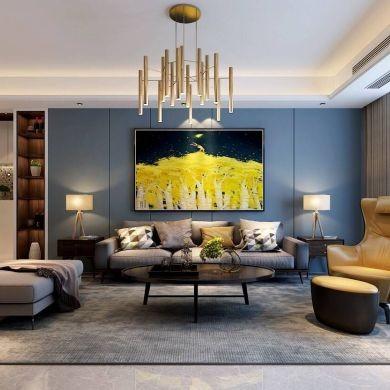 海派风格装修效果图-140平米三居室