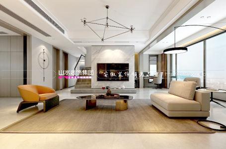 江山印200平方现代风格新房装修 简约,是家的另一种美