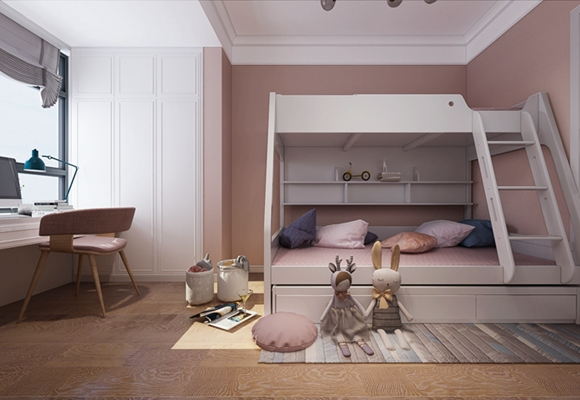 儿童房怎么装修设计好?男孩女孩房间设计细节各有讲究