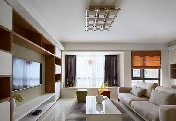 客厅飘窗怎么装饰好看?款式、色调与风格这样搭配设计
