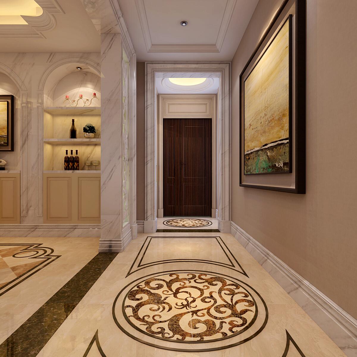 180平米欧式风格四居室装修效果图