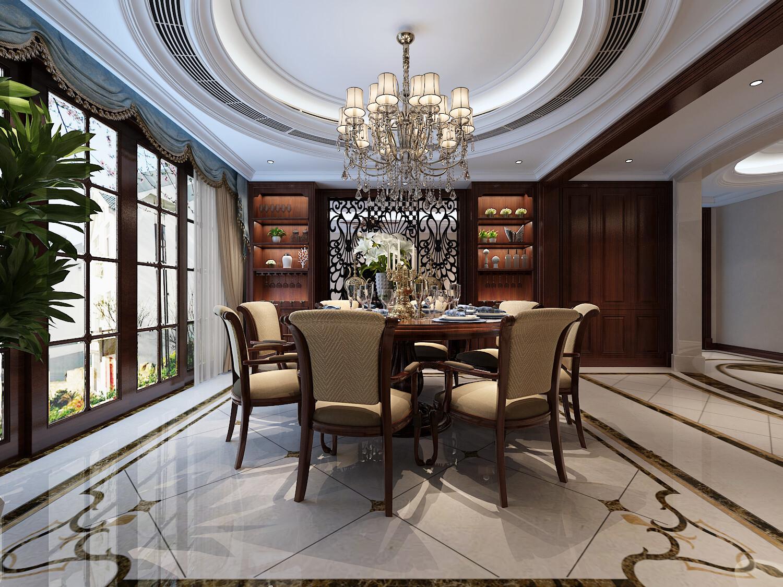 欧式风格200平五居室装修效果图