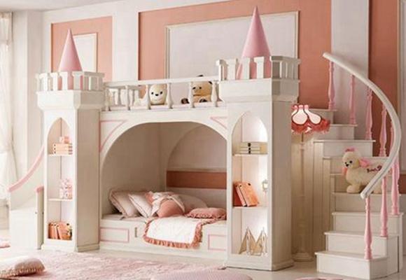 姐妹兒童房裝修如何設計?這幾點或許能給你帶來靈感