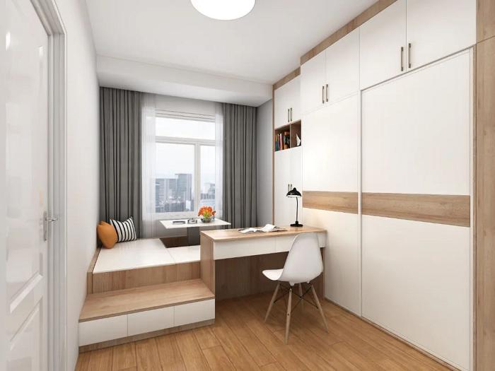 卧室空间太小怎么装修设计?小卧室这样装修也能拥有大空间