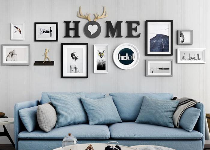 沙发背景墙怎么装修设计更好看?这样布置美得没话说
