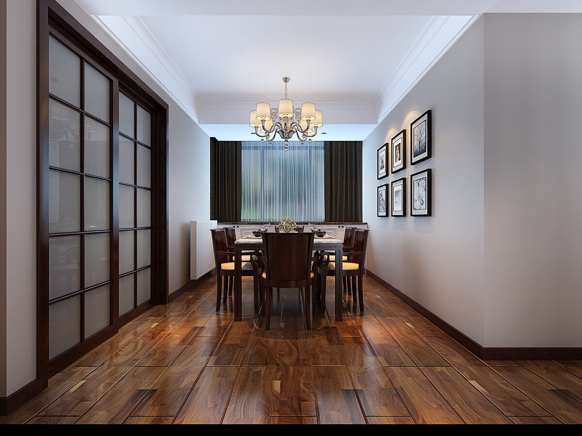 160平米現代風格四居室裝修效果圖
