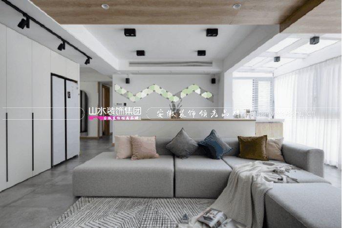 家天下140平米現代北歐風三居室新房裝修