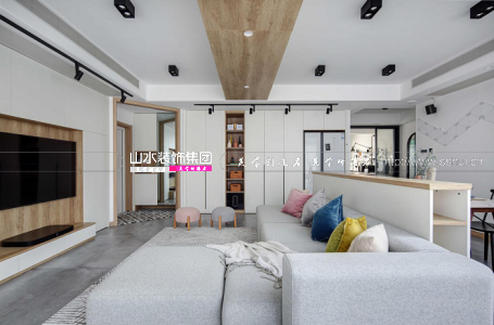 家天下140平米现代北欧风三居室新房装修 | 干净纯粹,回归慢生活