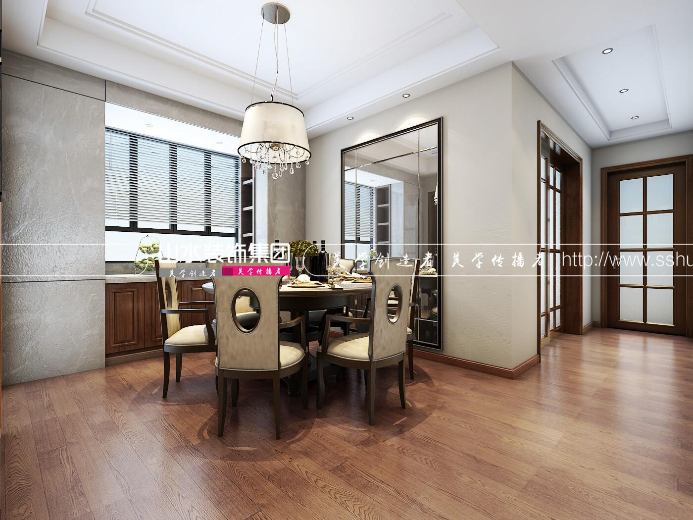 180平米現代風格四居室裝修效果圖