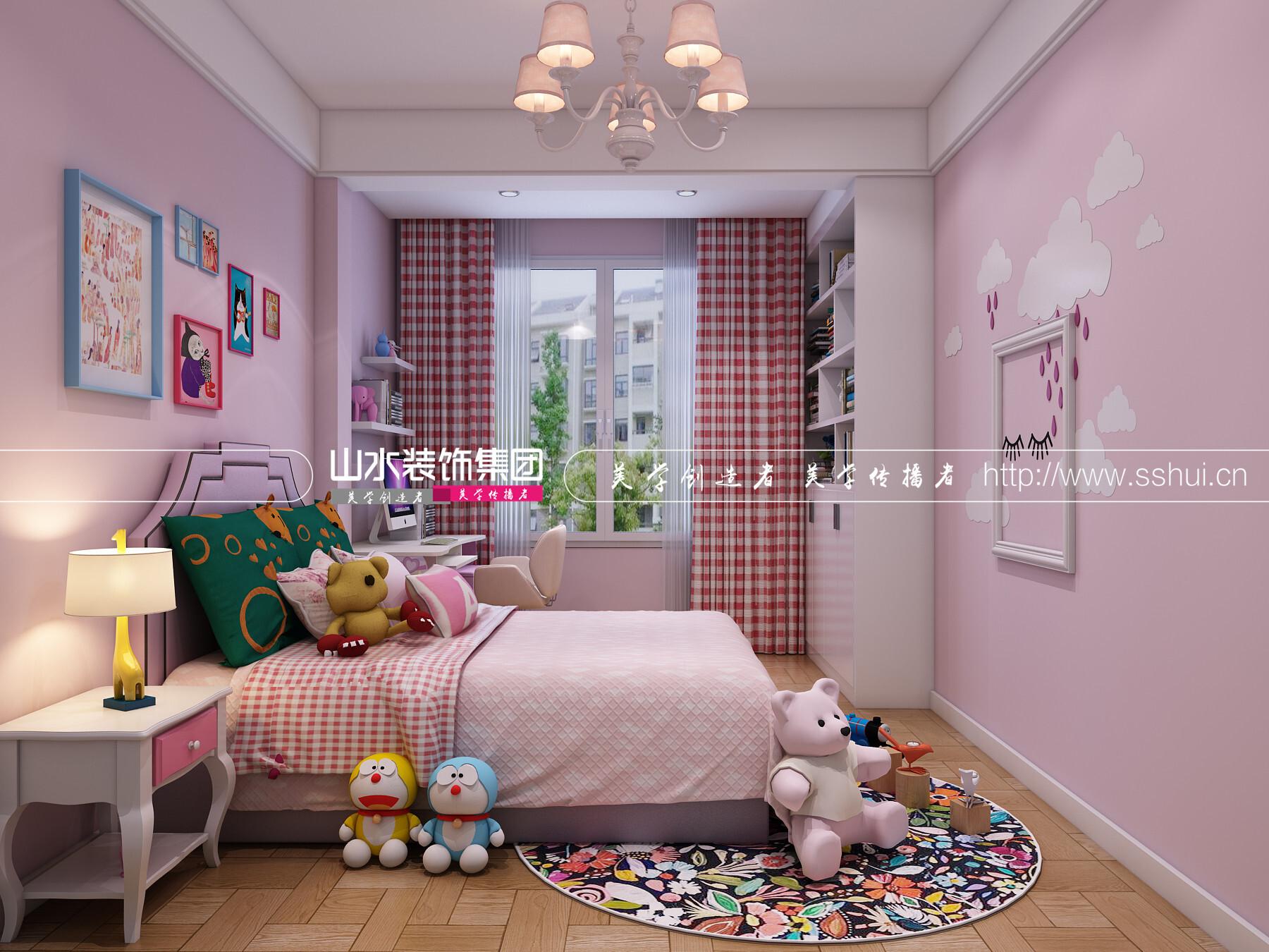 <span style='color: #ff0000'>儿童房装修</span>设计如何对安全方面进行考虑?
