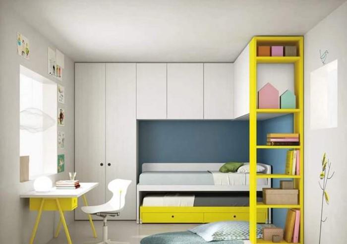9平米<span style='color: #ff0000'>儿童房装修</span>设计小居室才能看出大创意