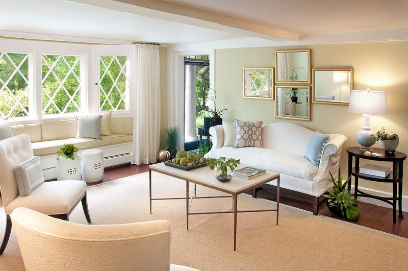 帶飄窗的客廳怎么裝修?四種設計方案讓客廳飄窗實用滿滿
