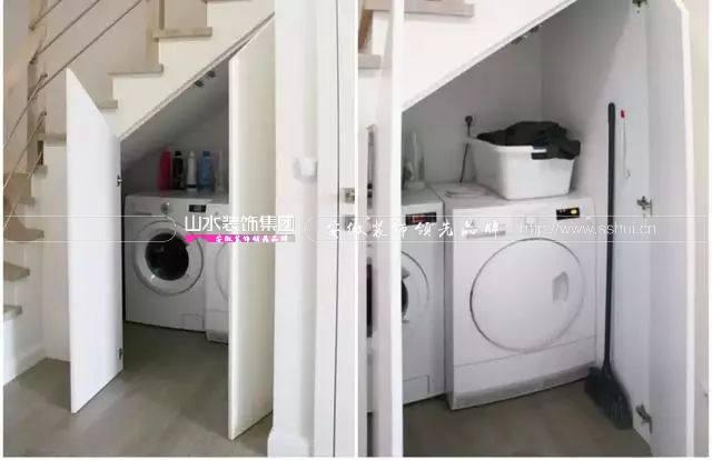 你家洗衣机是怎么摆放的,get洗衣机的不同摆放