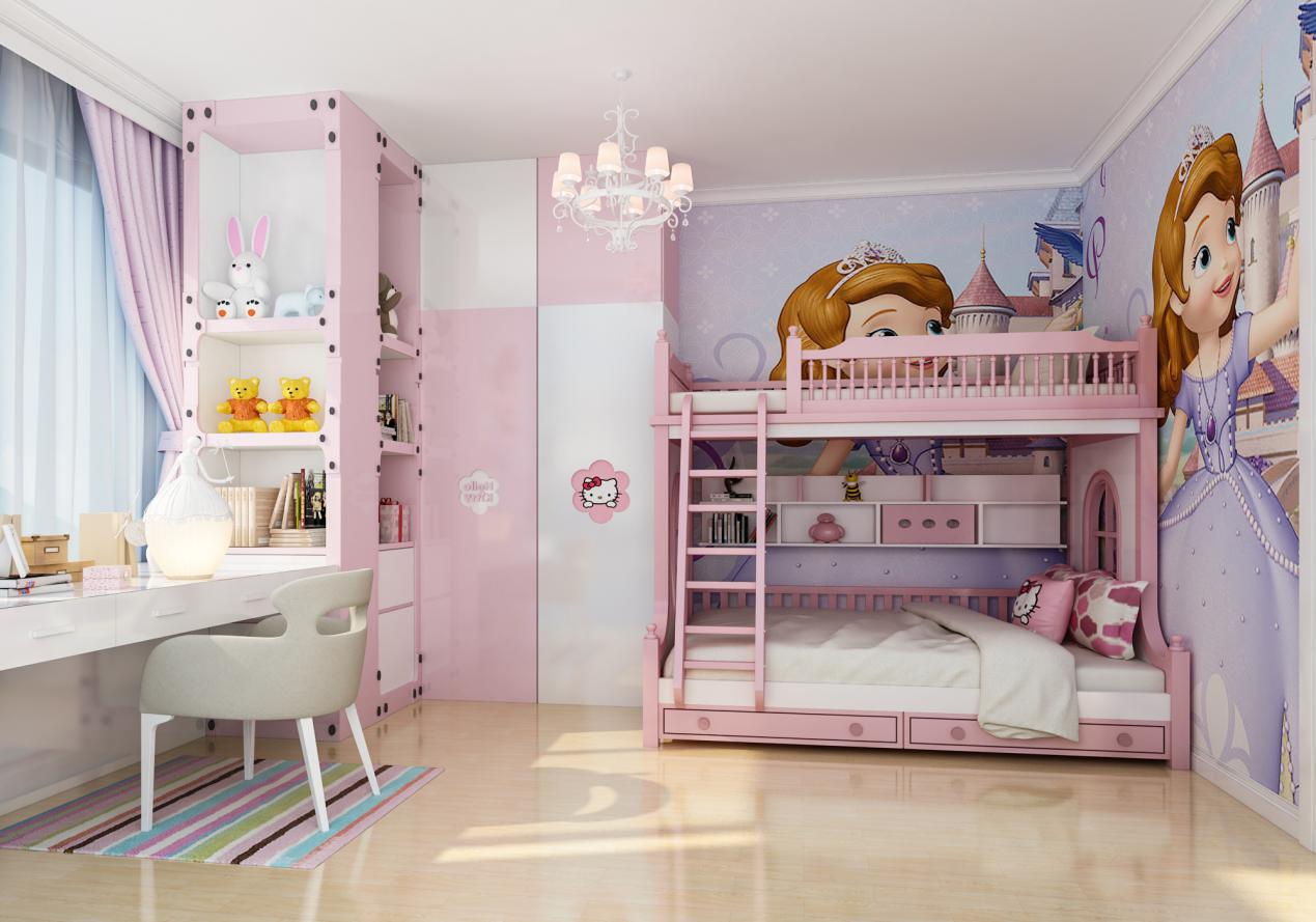二胎时代,双人儿童房<span style='color: #ff0000'>装修技巧</span>有哪些?
