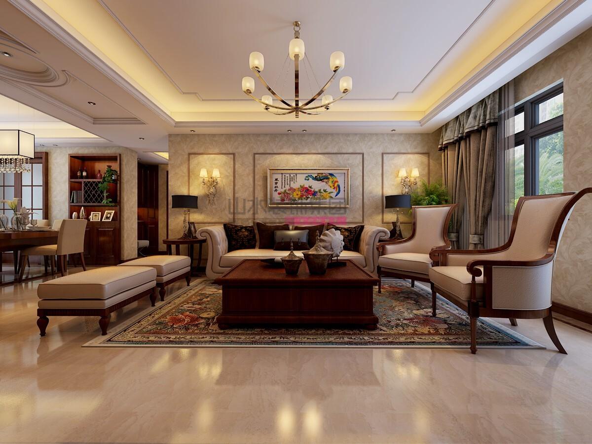 150平简欧设计风格四室两厅装修效果图