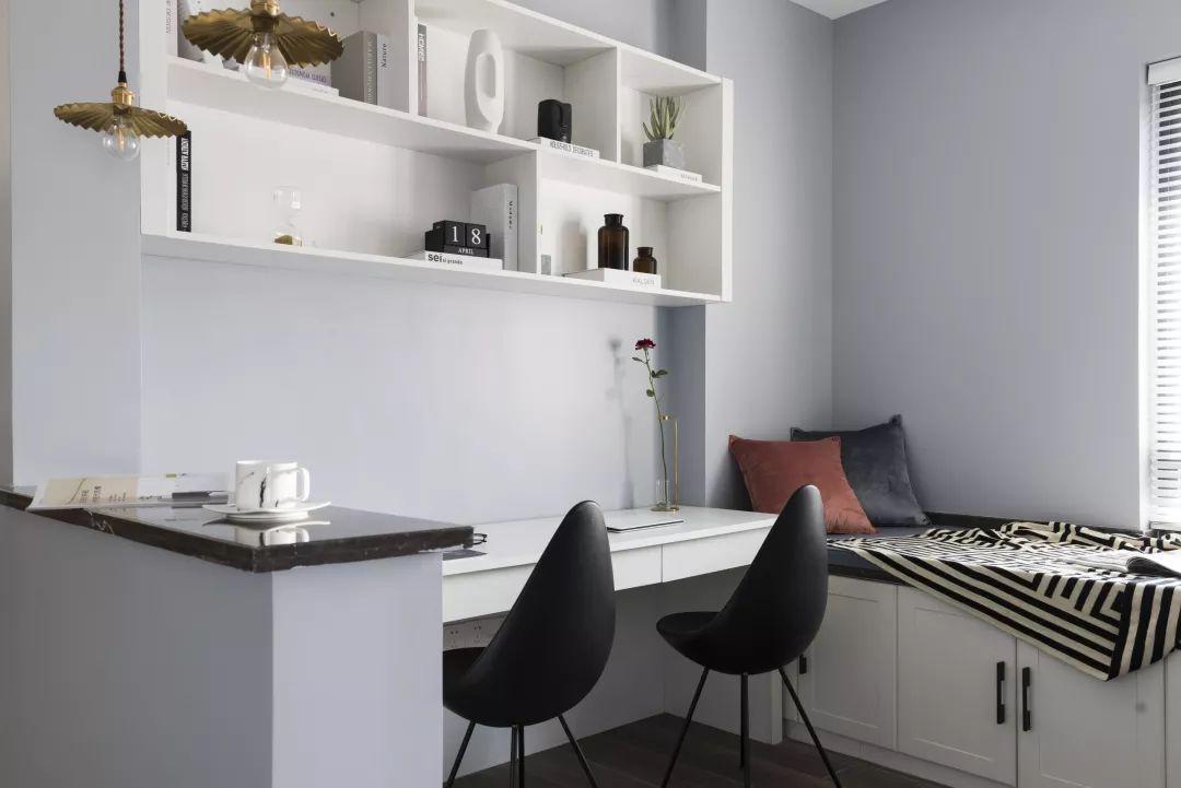 <span style='color: #ff0000'>北欧风</span>格书房装修设计案例-打造舒适阅读空间