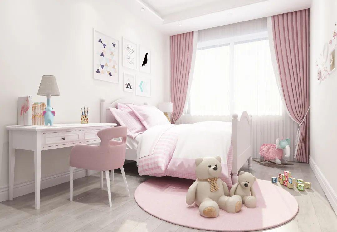 装修儿童房三个注意事项,给孩子一个快乐健康的童年时光