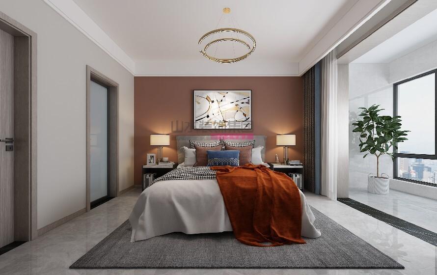 名人御苑三室两厅现代装修风格效果图