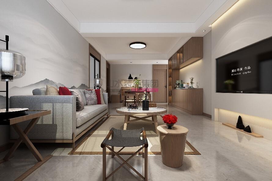 三室两厅简约装修风格效果图