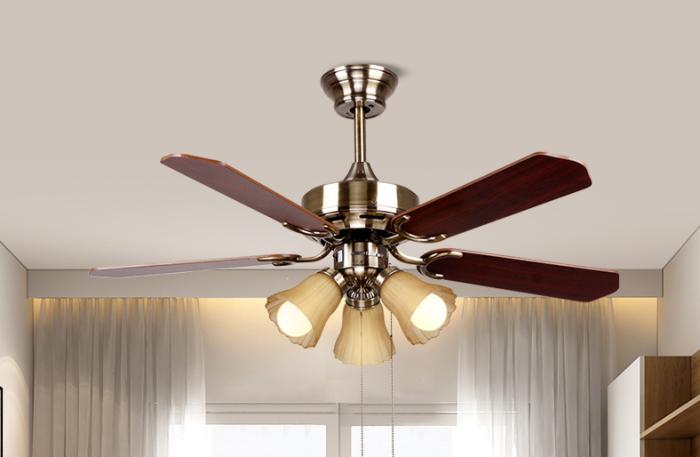 客厅装修安装风扇灯好吗