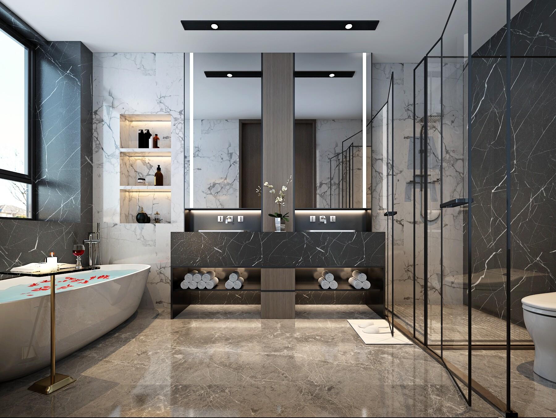 卫生间装修选择淋浴房还是浴缸?淋浴和浴缸的适用人群简析