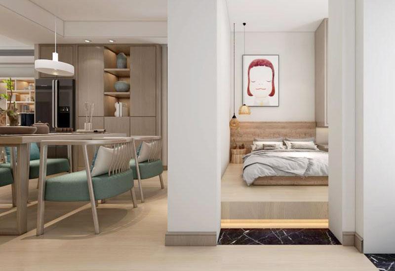 日式风格新房装修案例效果图,将日式装修风格自然的清新纳入新居