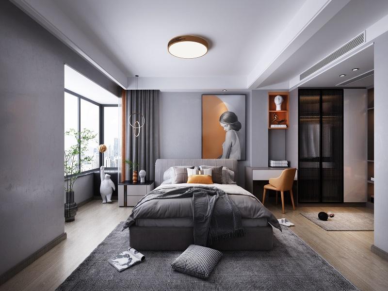卧室装修如何选择窗帘?隐私保护和墙面装饰是重点