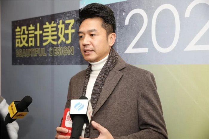 媒體采訪香港設計師黃志達