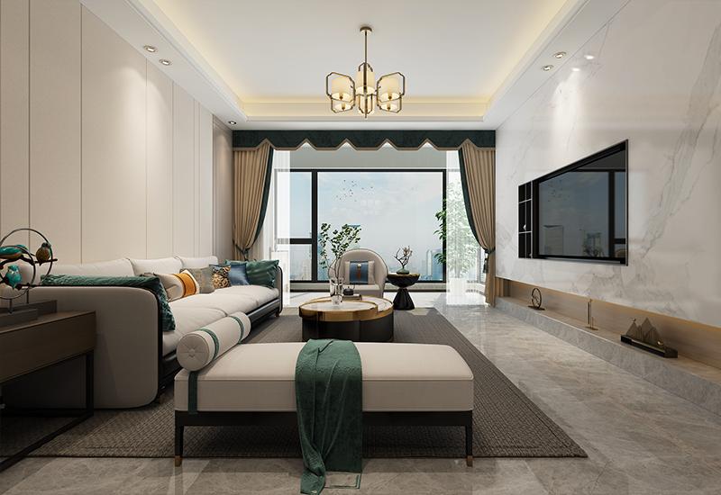 合肥唐宁府装修设计案例:157平新中式优雅家居空间