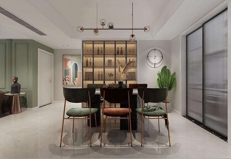 新房装修效果图鉴赏:140平<span style='color: #ff0000'>北欧风</span>清新居室