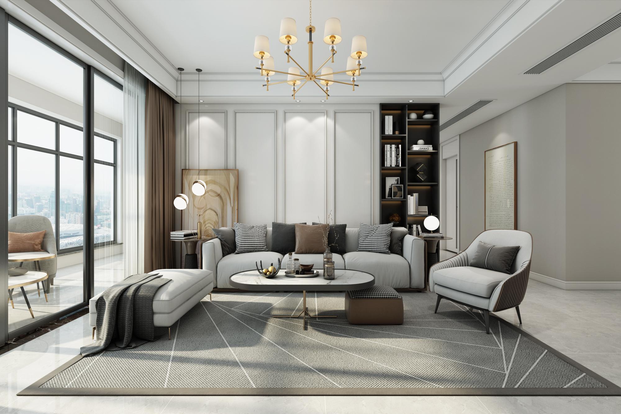 2021装修房子流行哪种风格?现代轻奢风格造型特点介绍