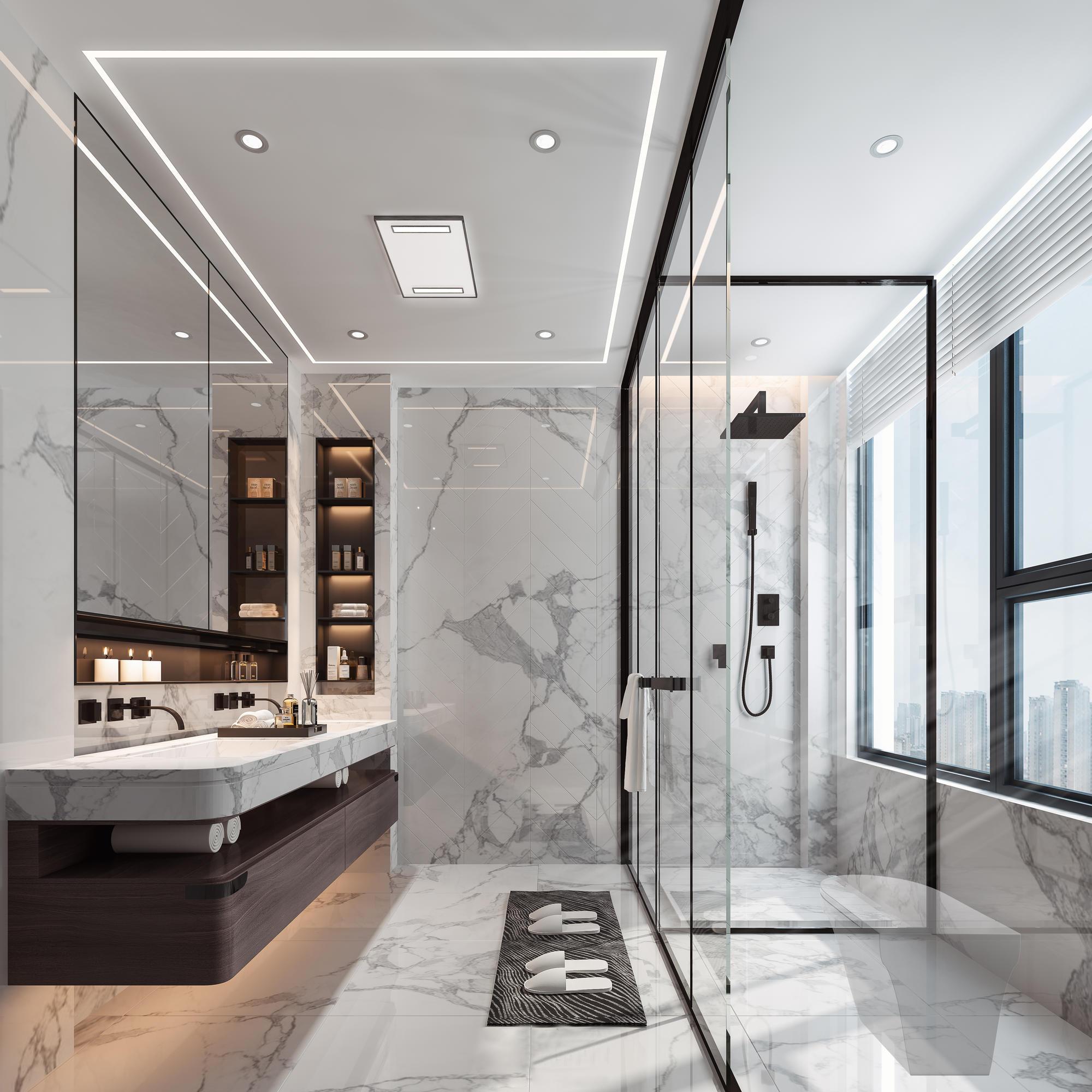 <span style='color: #ff0000'>新房装修</span>真正实用的卫生间设计小技巧!