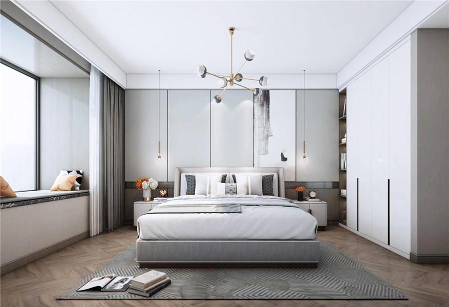 卧室床的位置怎么设计摆放更好?床位的设计摆放有哪些注意事项?