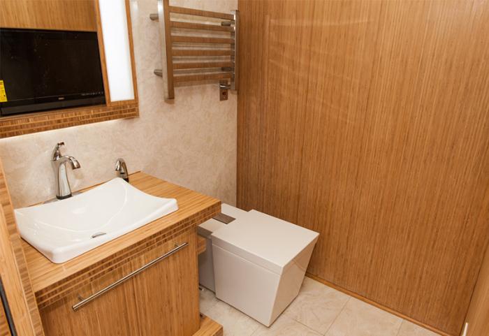 衛生間小怎么裝修?巧用材料擴容空間