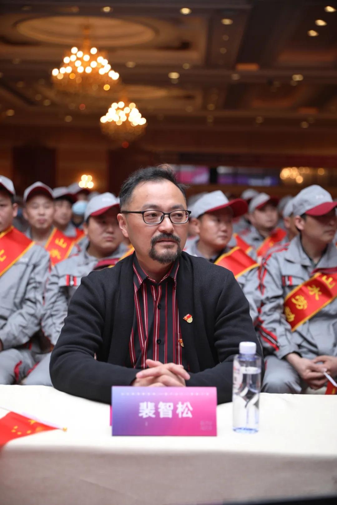 山水装饰集团副总裁裴智松