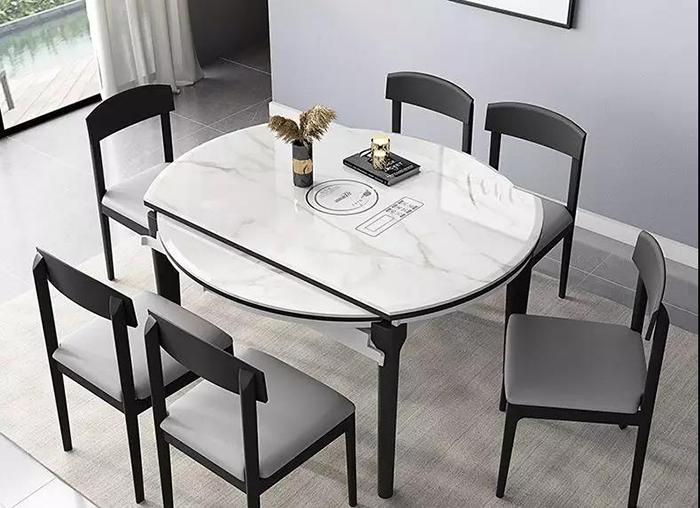 山水空间装饰.蚌埠装修公司.怎样选择餐桌.