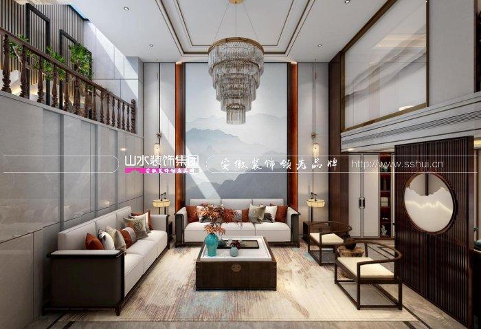 铂悦·庐州府400平方新中式别墅设计