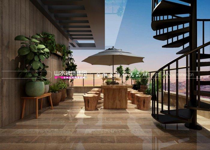 合肥万科森林公园曦园300平新房装修设计