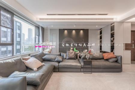 塘溪津門270㎡現代簡約家,慵懶舒適的自在空間