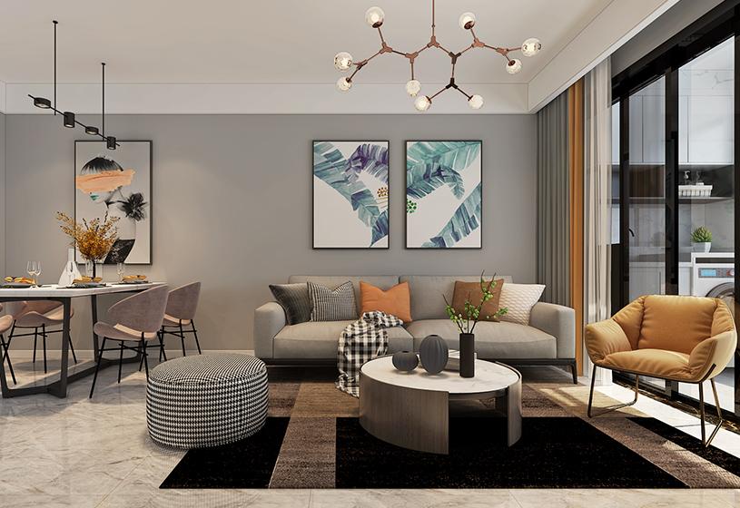 装修房子颜色搭配原则,掌握三点空间更高级