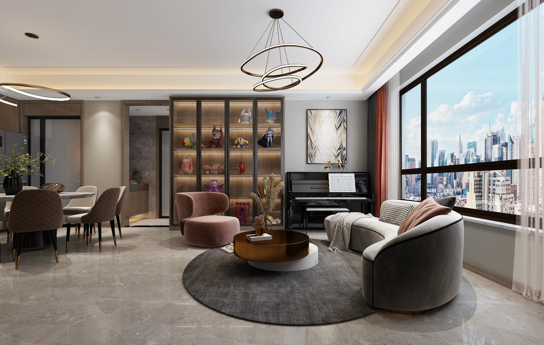 <span style='color: #ff0000'>新房裝修</span>如何布局?柏悅公館140㎡現代輕奢風格學習一下