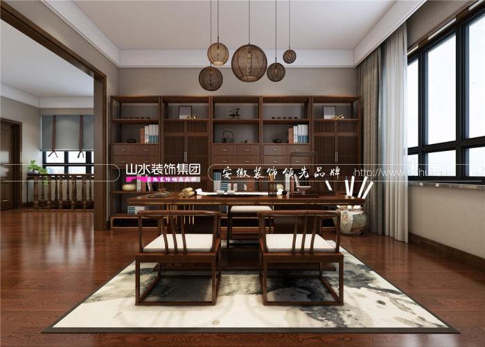 复式楼怎么装修更好看?建行家属院新中式风格装修案例