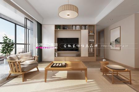 143㎡日式风丨淡雅暖心之家