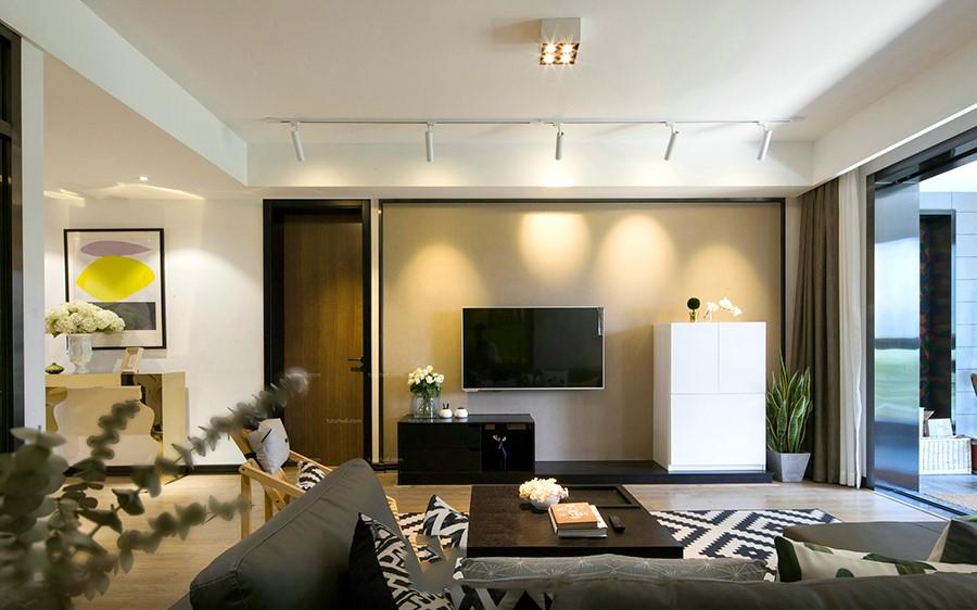 新房怎么装修设计感十足?160㎡<span style='color: #ff0000'>现代风格</span>时尚艺术空间