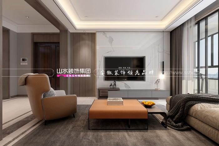塘溪津门130平现代风格案例