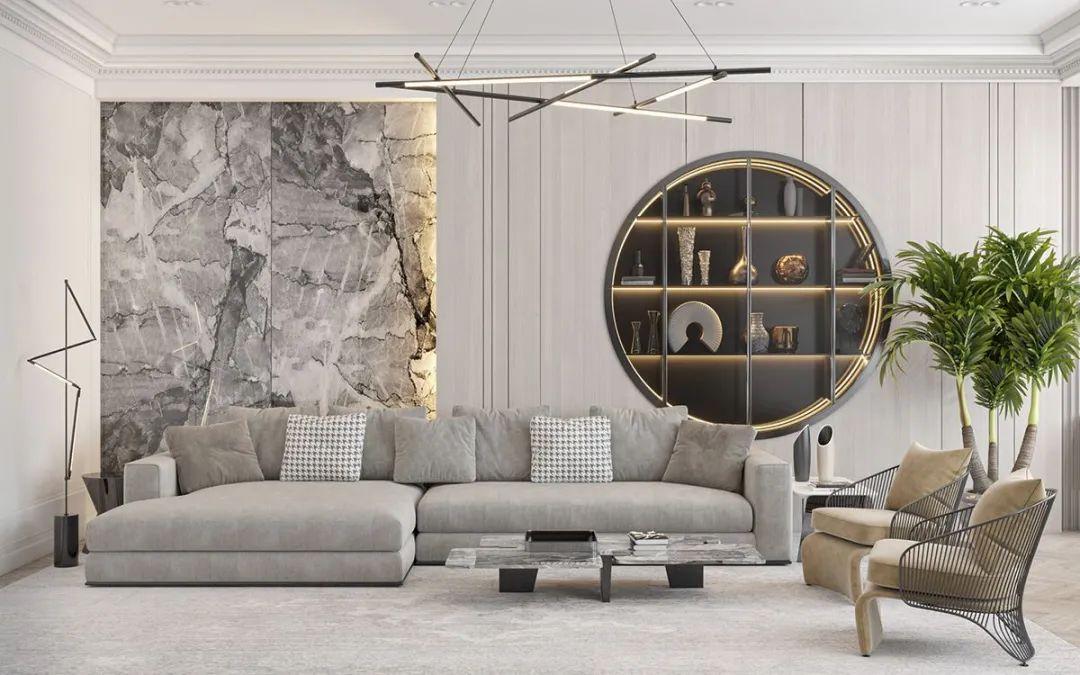 沙发背景墙应该怎么设计?2021年超美的沙发背景墙,赶紧收藏