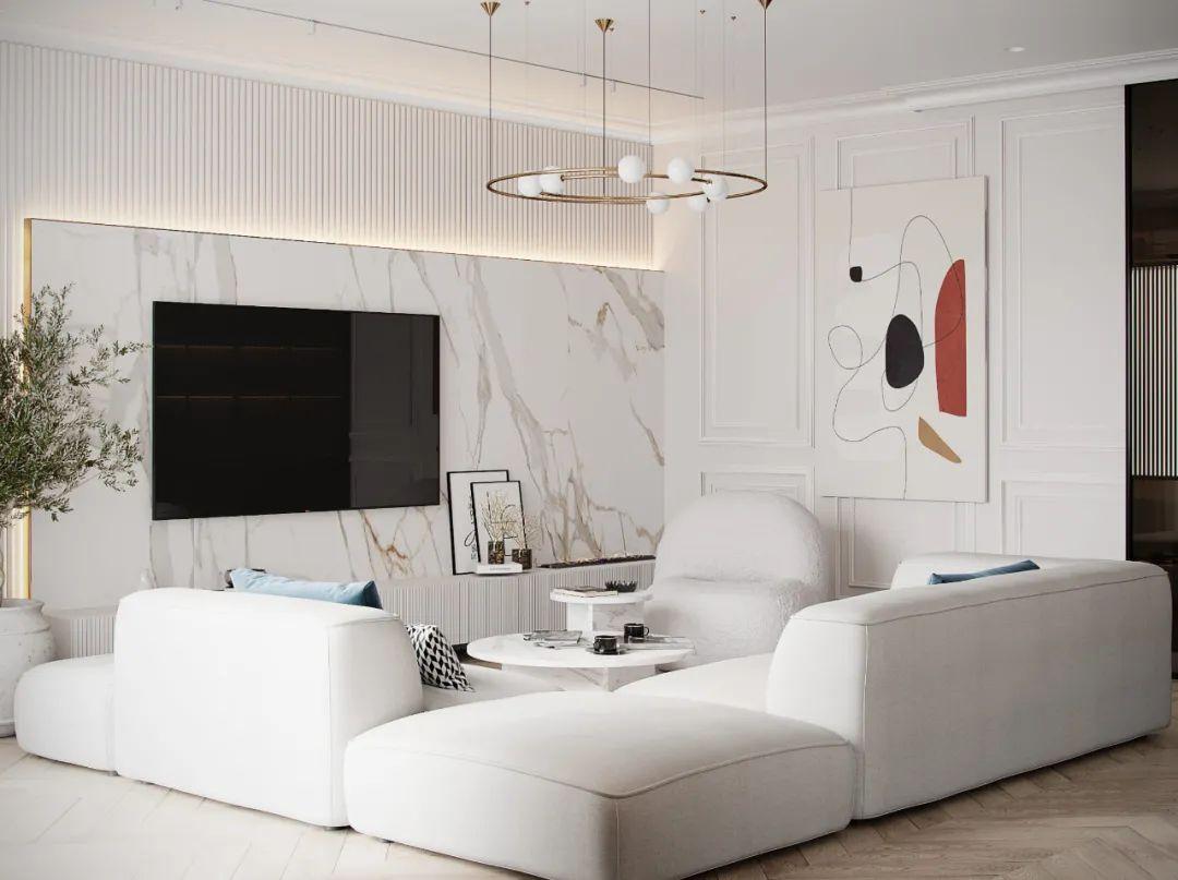2021年流行的<span style='color: #ff0000'>客厅</span>装修布局,越住越舒服