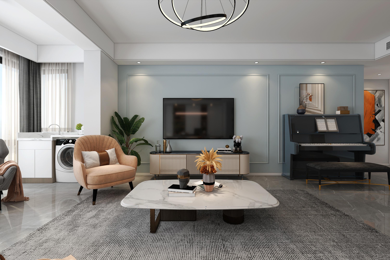 三室改两室,147㎡<span style='color: #ff0000'>现代风格</span>案例赏析,宽敞空间更好住